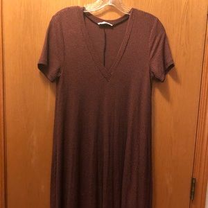 Lush stretchy dress small short sleeved